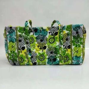 NWT Vera Bradley large duffel Bag Limes up